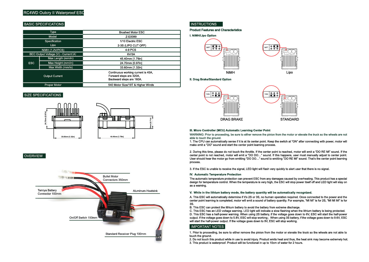 axial rx, axial fan, axial a&e 2 specs, axial brushless motor, axial speed control, on axial esc wiring diagram